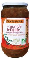 Lentilles Vertes Format Familial Danival