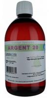 Argent électrocolloïdal 20 ppm 500ml Catalyons