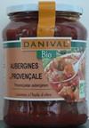 Aubergines provençales Danival