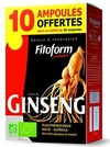 Ginseng Panax Eleutherocoque Ampoule Fitoform